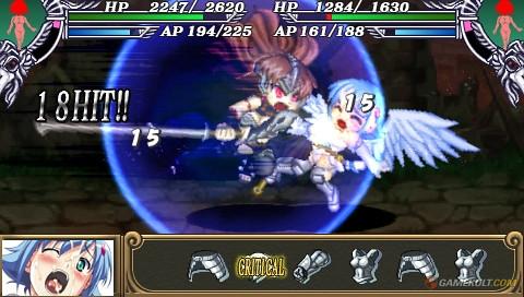 Queen's Blade : Spiral Chaos - attack 6