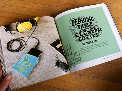 Periodic Table of the Elements Cozies by Erika Kern