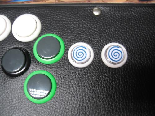 NAOMI Universal Cabinet - boutons start