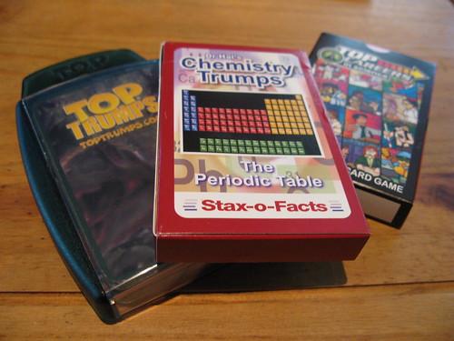 my science-y top trumps colection