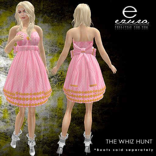 + ezura Xue + The Whiz Hunt Gift