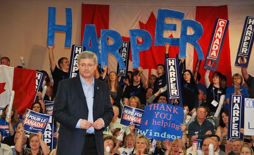 Stephen Harper (Photo: Flickr)