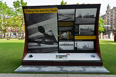 The 'Titanic 100' exhibition - Belfast City Hall.