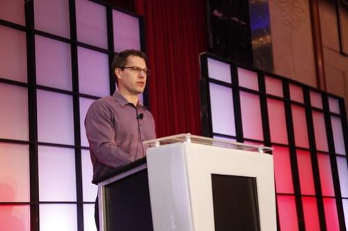 Duncan Watts delivering keynote address at SES New York