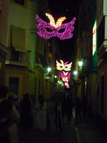 calles en carnaval