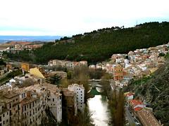 Cuenca y el río Júcar desde Torre Mangana