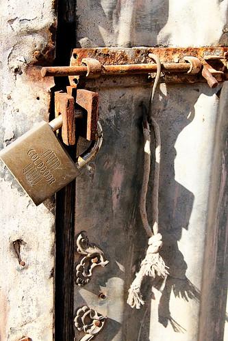 Rusty-lock