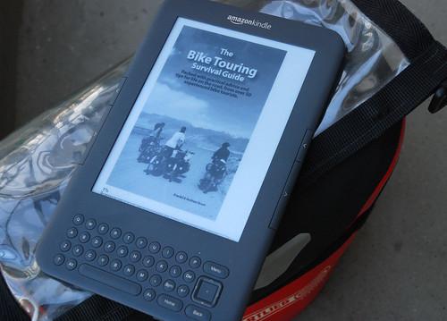 Kindle for bike touring