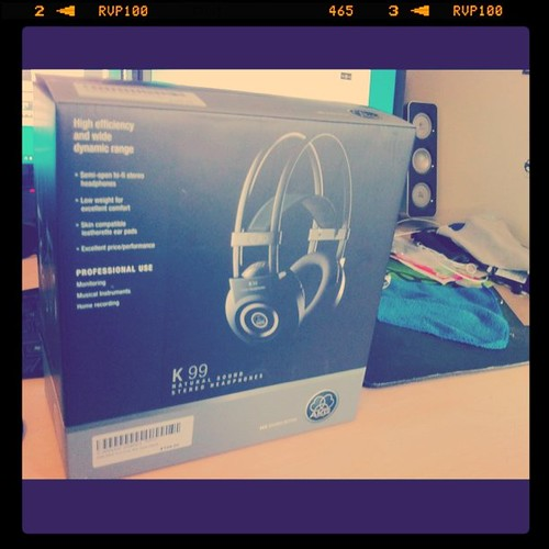 AKG k99 my new headphones