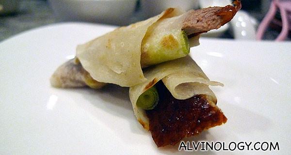 Peking Duck - love this!