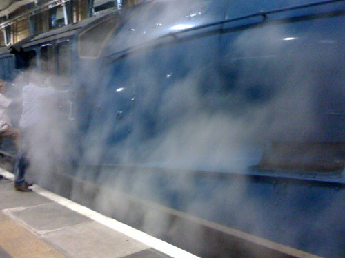 steamin'