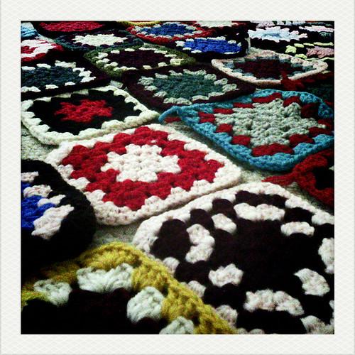 365 day 183 - Granny's squares