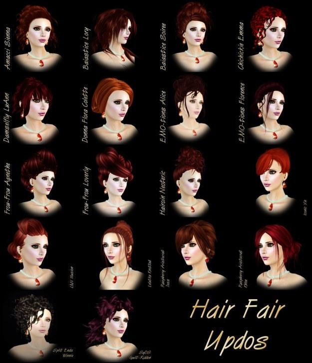 Hair Fair Updos