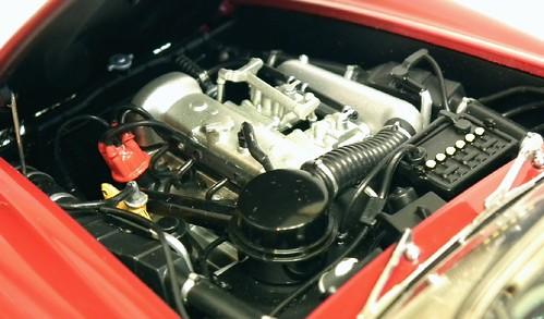 AutoArt 190 SL motore