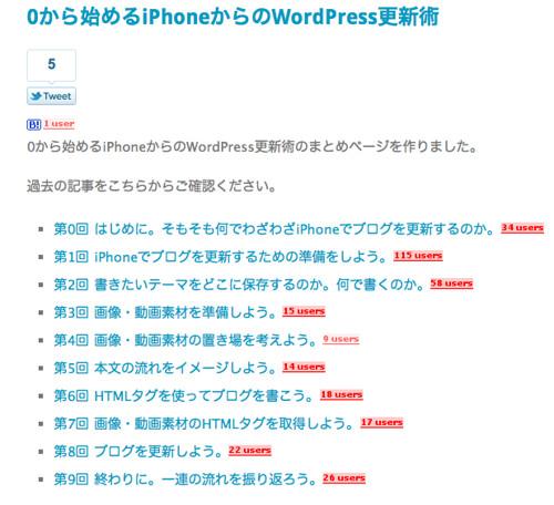 0から始めるiPhoneからのWordPress更新術 | Feelingplace