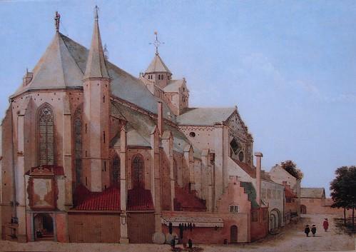 Mariakerk by Saenredam