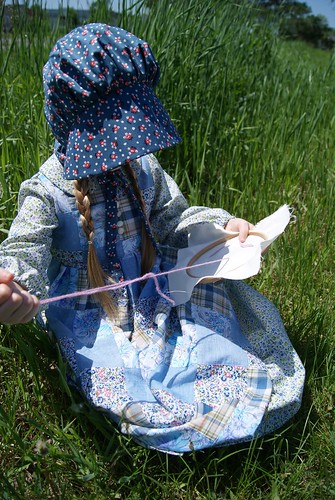 sewing on the prairie