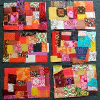 Low-brow patchwork