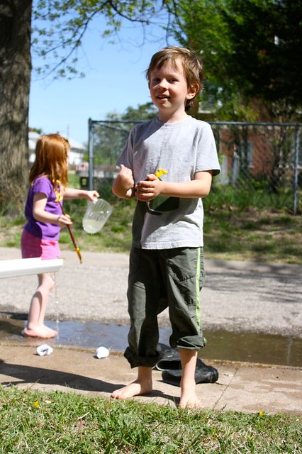 last day of school water play! - 05