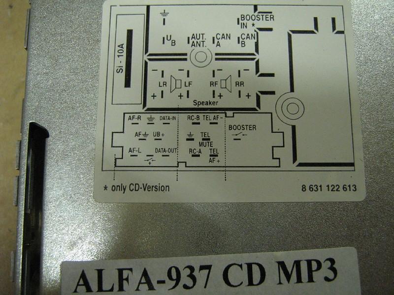 Alfa 156 Wiring Diagram