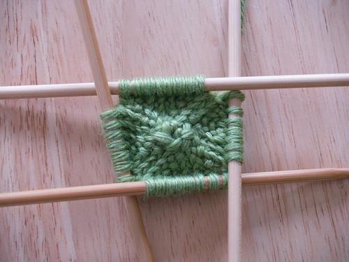Knit Gumdrops, Step 1