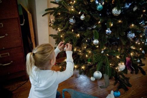Jessica decorating