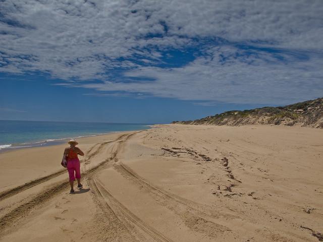 On Whitehills Beach