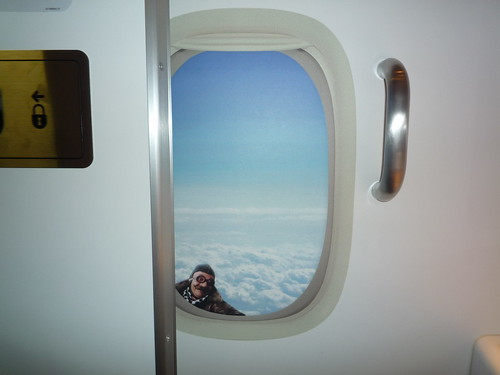 Air New Zealand 777 Window Lav