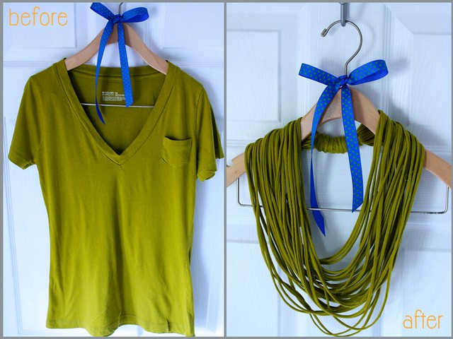 Fabuleux Project ReStyle: Easy No-Sew T-Shirt Necklace – Keira Lennox BN69