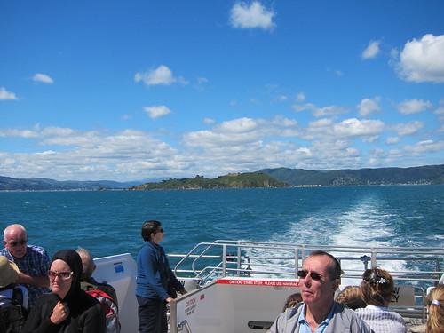 Ferry on Wellington Harbour
