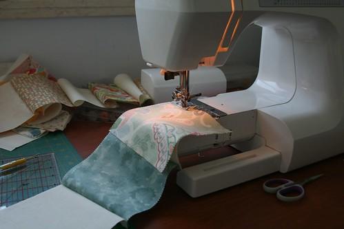 Quilt making...