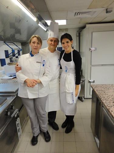 Chef Walter, Leanne (translator) a d I