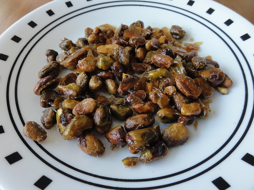 Brown Sugar Candied Pistachios