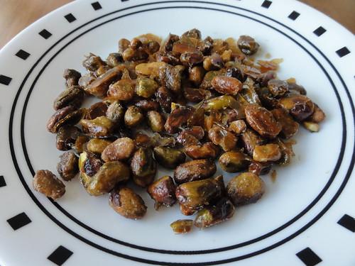 Brown Sugar Candied Pistachios