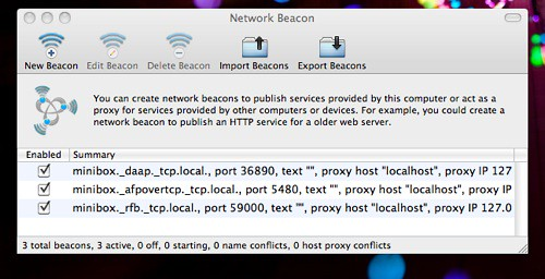 Network Beacon