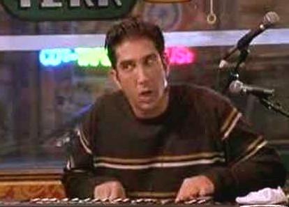Ross Geller Keyboards