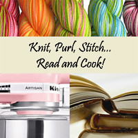 Knit, Purl, Stitch.. Read & Cook