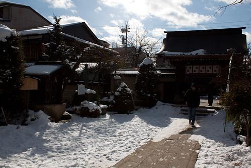 Un templo en Takayama