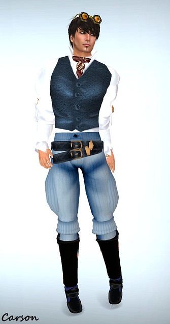 Avatar Bizarre -  Steampunk Buckaneer Outfit
