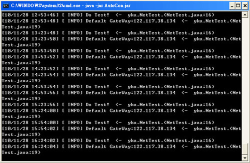 Java排程程式