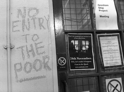 No entry to the poor