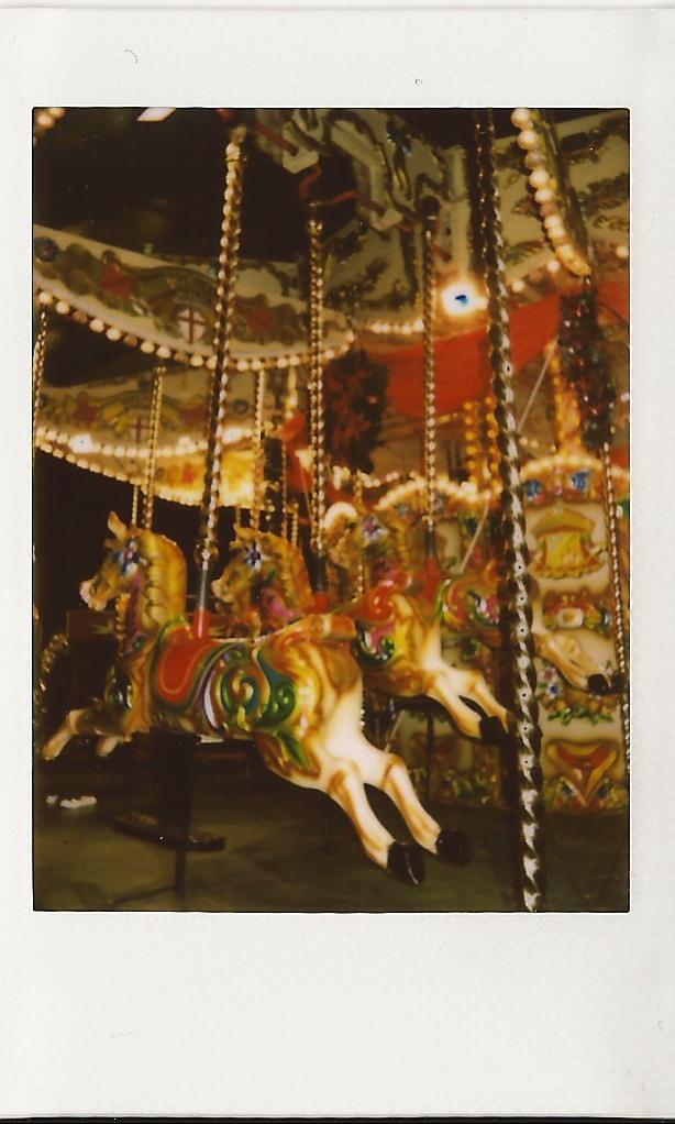 German Market Carousel detail instax