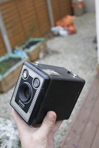 Kodak Brownie Model C - photo by gonzocameras