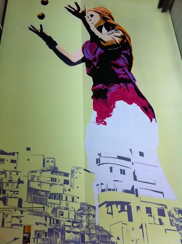 Murale en devenir - Cirque du Soleil IHQ