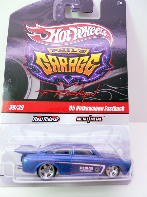 hot wheels phils garage '65 volkswagen fastback (1)