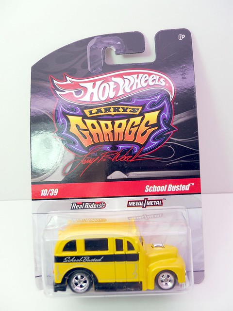 hot wheels larrys garage school busted yellow (1)