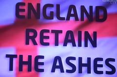 England retain the Ashes