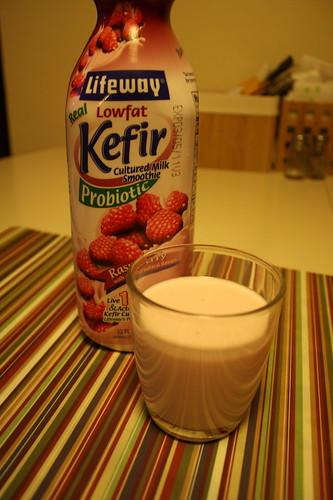 Kefir raspberry