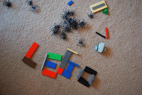 """my son spelled """"lego"""" in legos"""