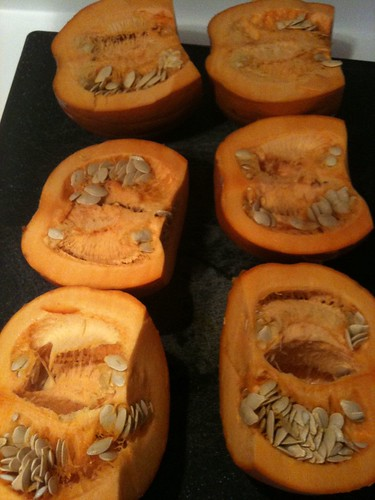 Pie Pumpkins with Seeds